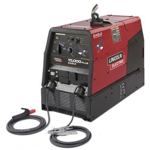 Lincoln Eagle 10,000 Plus Engine Driven Welder w/ Canvas Cover - ATL Welding Supply
