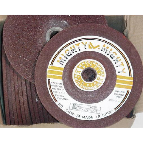 Mighty Might 7 x 1/4 x 7/8 (25 box) - ATL Welding Supply