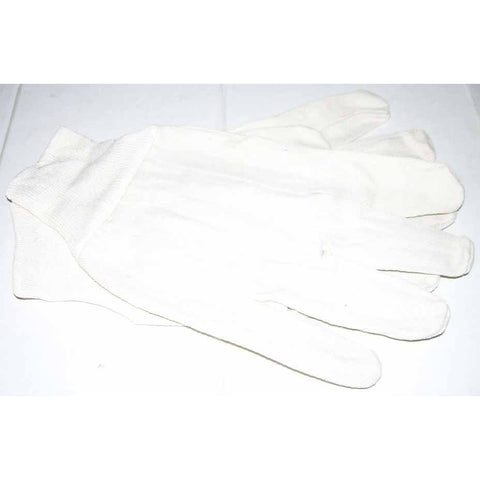White Cotton Gloves Pair