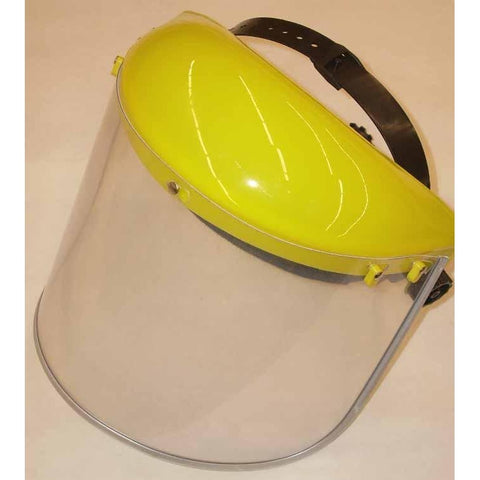 ATL Grinding Headgear & Clear Faceshield