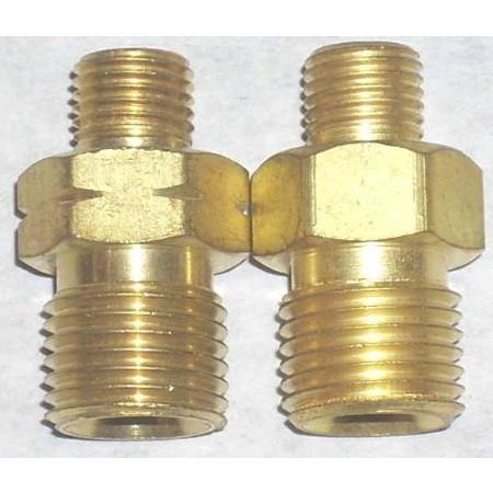 Oxy-Fuel Hose Adaptor Set A-B Size Male