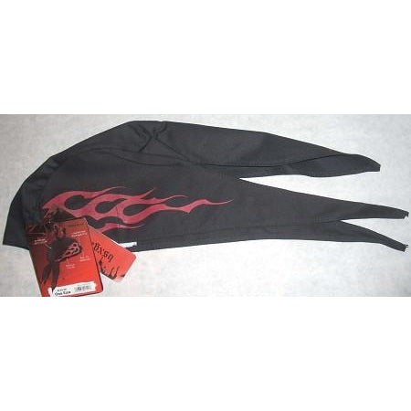 BSX BC5D Red Flame FR Doo Rag - ATL Welding Supply