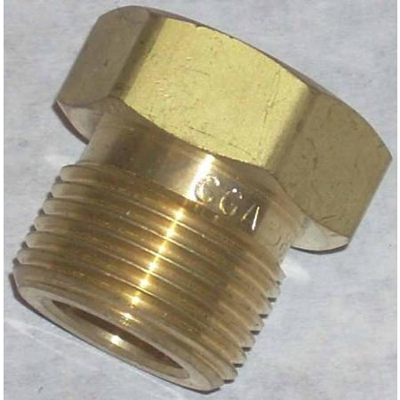 Argon Regulator Inlet Nut CGA 580