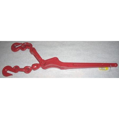 Chain Binder 5/16-3/8 5400 Lb Capacity - Red - ATL Welding Supply