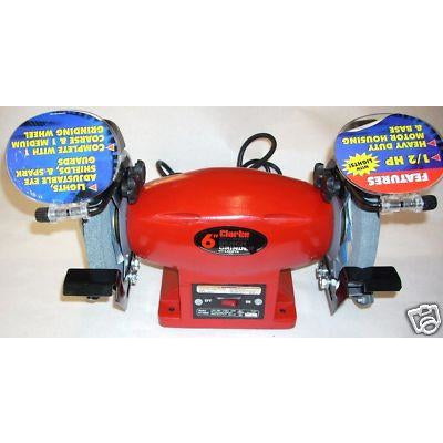 "Clarke BT2005 Metal Worker 6"" Bench Grinder - ATL Welding Supply"