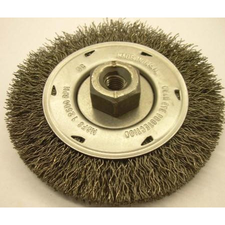 4XM10-1.5 Crimped Wire Wheel - ATL Welding Supply