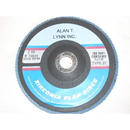 7 x 7/8 Zirconia Flap Wheel 60 Grit Each - ATL Welding Supply