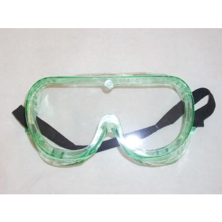 Marquette Green Clear Lens Safety Goggles - ATL Welding Supply
