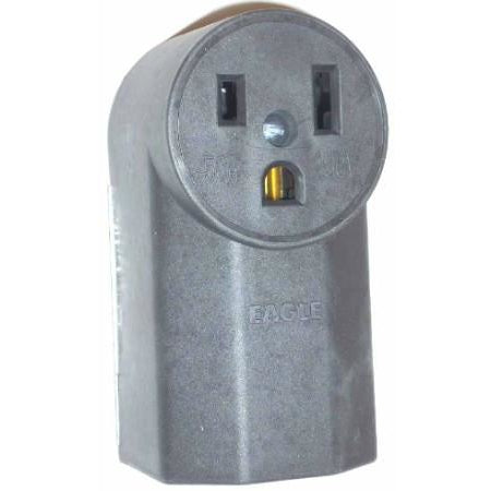 Cooper 1252 Surface Mount Power Receptacle 50A-250V - ATL Welding Supply