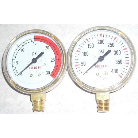 Fuel Regulator Gauge Set 2 1/2""