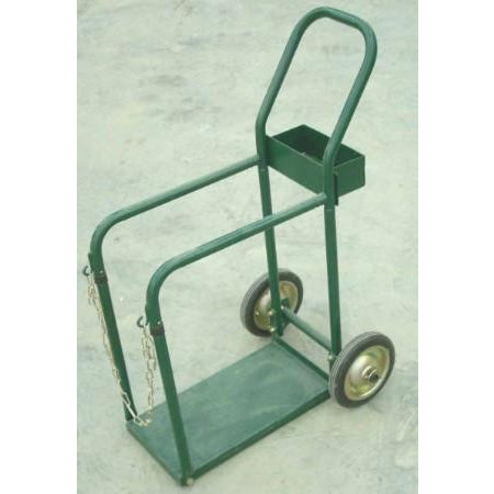 9 3/4 x 17 3/4 Tank in Front Cylinder Cart - ATL Welding Supply