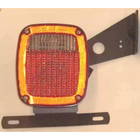 Grote Left Tail Light for Flat Bed Pick Up Mount