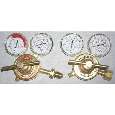 Harris Model 425 Oxygen Acetylene Regulator Set