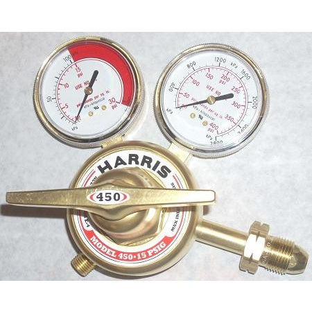 Harris 450-15-510 Acetylene or Propane Regulator - ATL Welding Supply