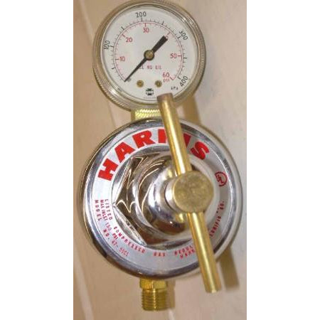 Harris 47-50CL High Flow Station & Pipe Regulator - ATL Welding Supply