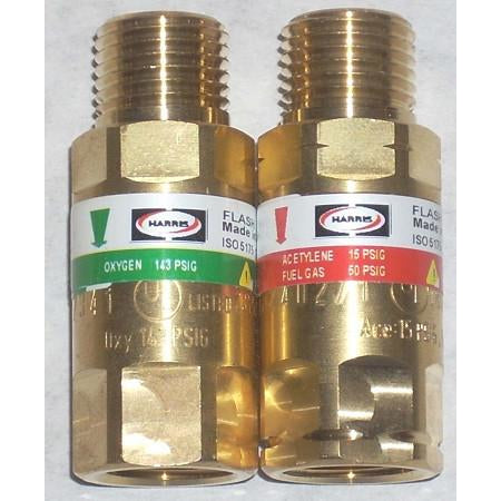 Harris Torch style Flashback Arrestor Set - ATL Welding Supply