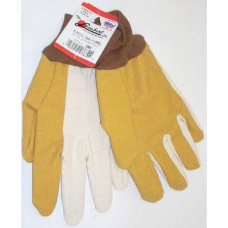 Lambert Plastic Dash Canvas Back 10oz Gloves
