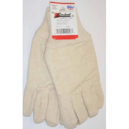 Lambert White Canvas Womens Cadets Gloves
