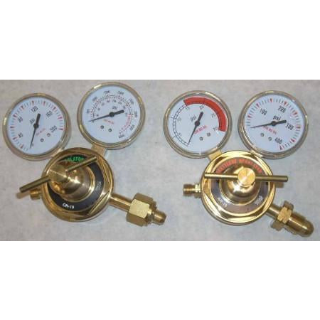 Oxygen Acetylene Regulator Set OR-19 & AR-19 - ATL Welding Supply