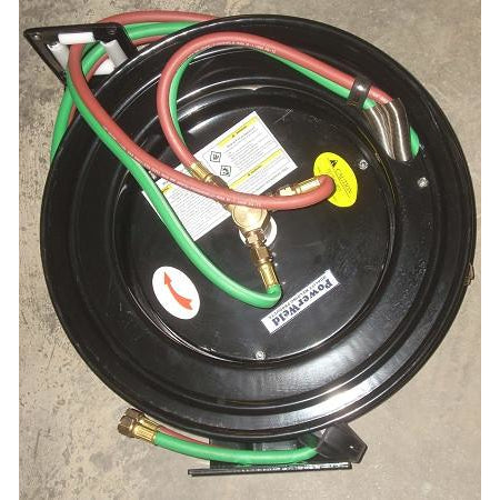 Automatic Twin Welding Hose Reel 50' Hose