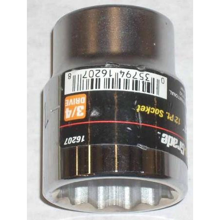 "Pro Grade 12pt 3/4 Dr Socket 1 1/4"" - ATL Welding Supply"