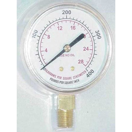 2 1/2 inch Fuel High Pressure Gauge - ATL Welding Supply