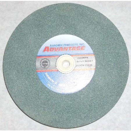 8x1x1 Green Carbide Masonry Bench Wheel 60 Grit 95246