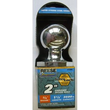 Reese 2 inch Chrome Hitch Ball - ATL Welding Supply
