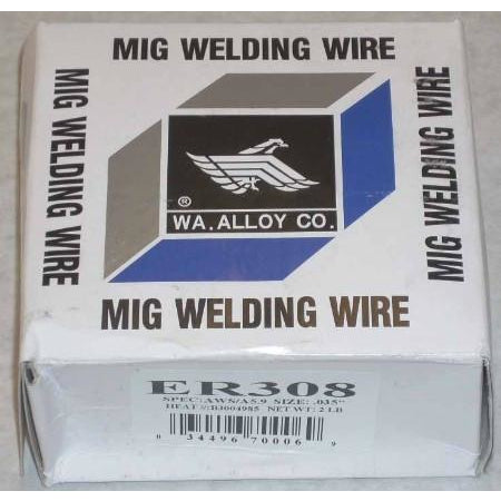 308 Stainless Steel Mig Welding Wire .035 2lbs - ATL Welding Supply