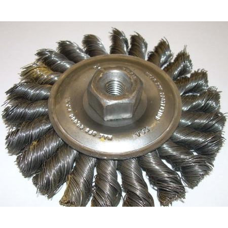 4XM10-1.5 Knot Wire Wheel - ATL Welding Supply
