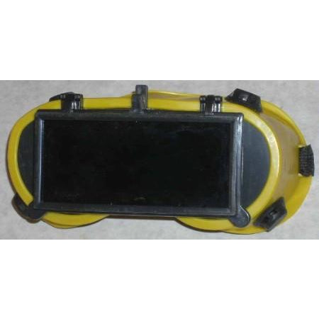 Yellow Flip Front Welding Goggles 2 x 4 1/4 - ATL Welding Supply