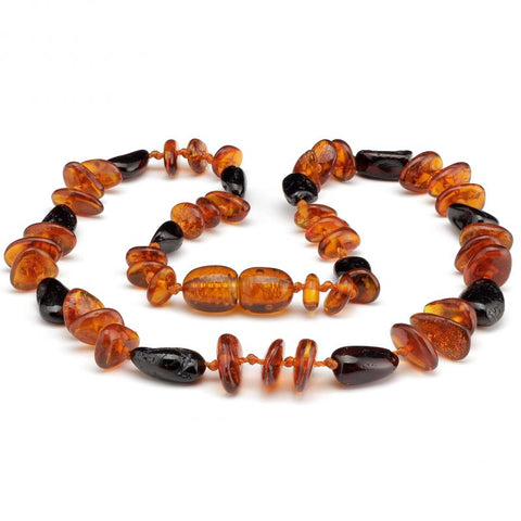 Baltic Amber Necklace | Bow & Arrow - Baby Nibblez, LLC
