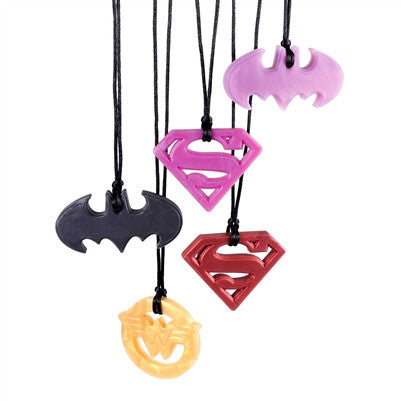 Super Hero Necklace - Baby Nibblez, LLC