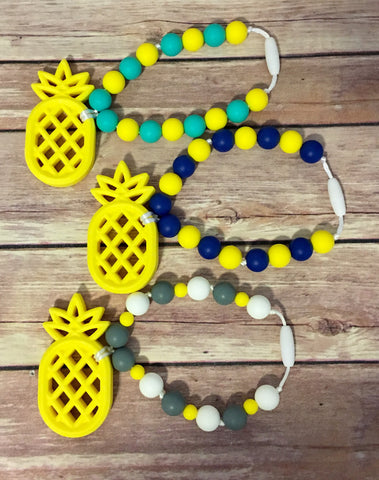 Pineapple Teether - Baby Nibblez, LLC