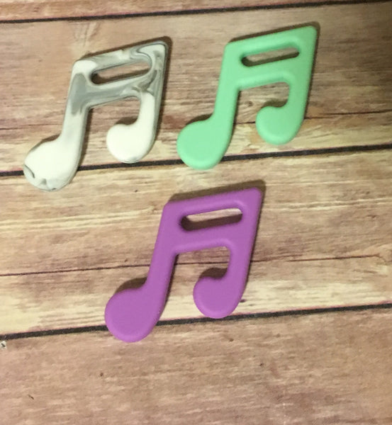 Music Note  Pendant - Baby Nibblez, LLC