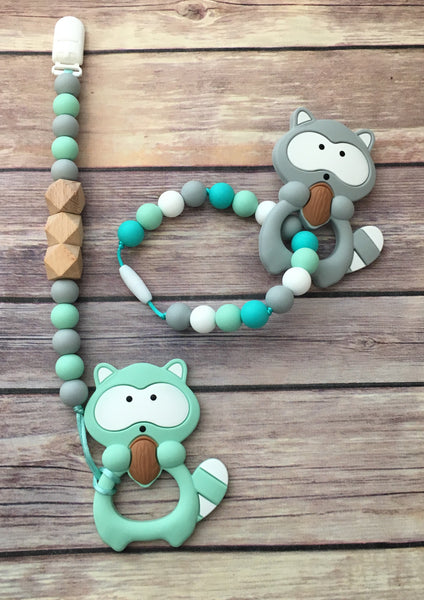 Raccoon Teether - Baby Nibblez, LLC
