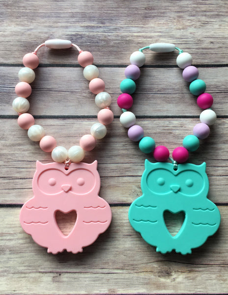 Owl Teether - Baby Nibblez, LLC