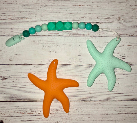 Mama Starfish Teether - Baby Nibblez, LLC