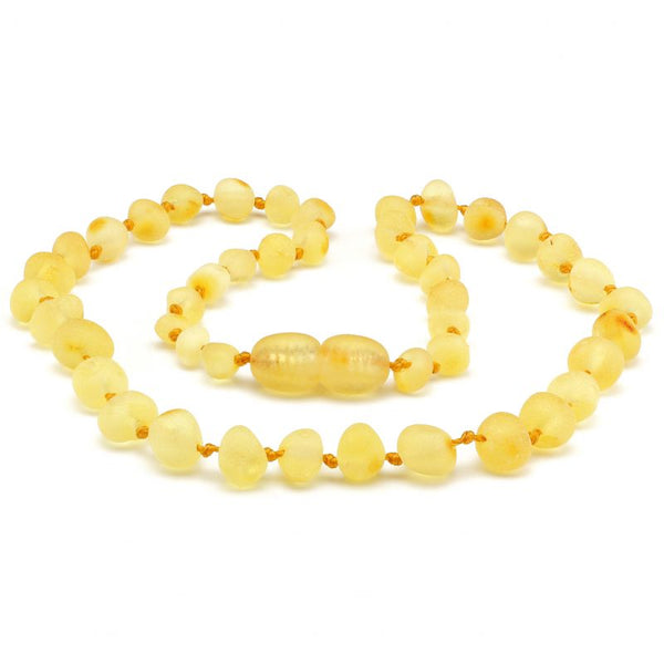 Baltic Amber Necklace | Lemon Squeeze - Baby Nibblez, LLC