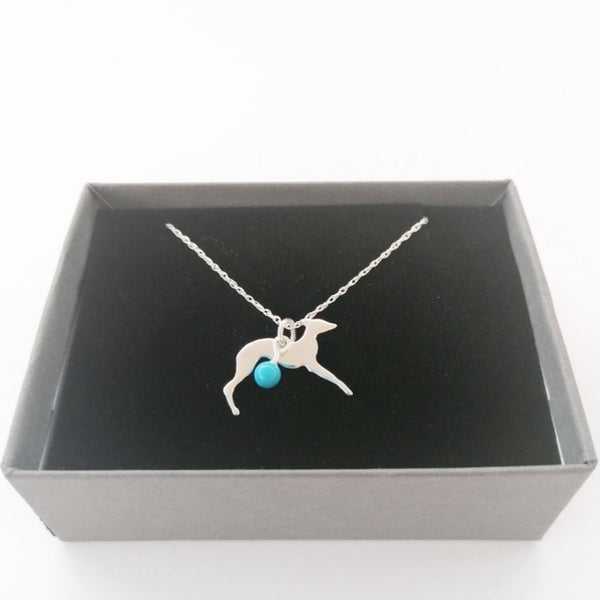 Sterling Silver Sighthound Necklace