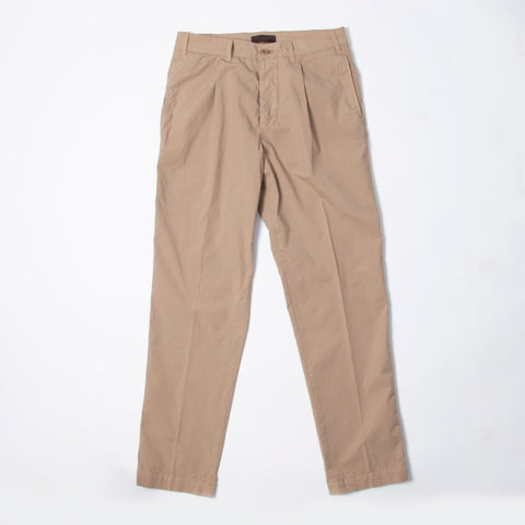 1 Pleat Ultralight Pant Tan