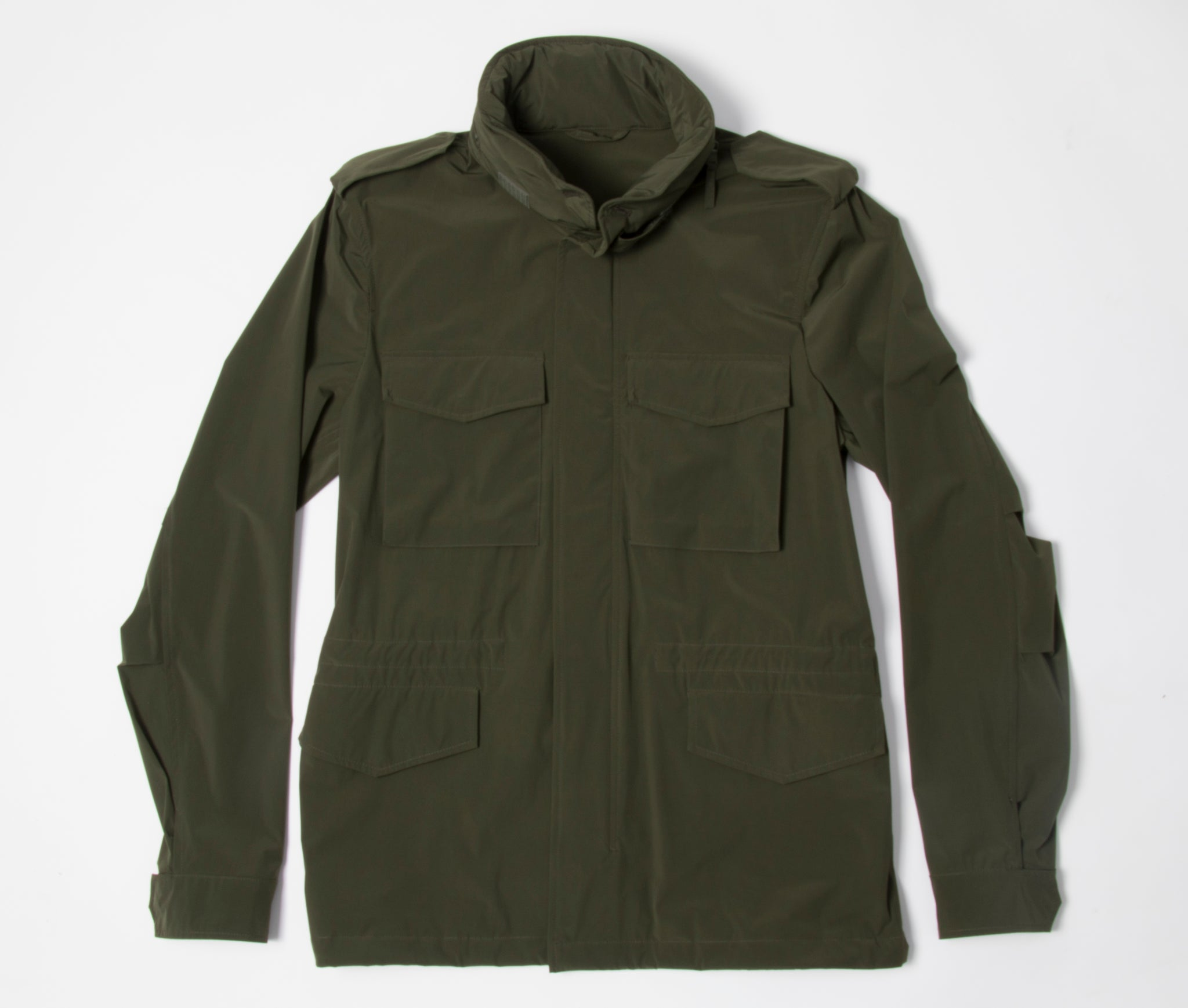 Nylon Windbreaker Olive