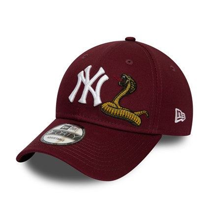 CASQUETTE | NY YANKEES SNAKE RED 9FORTY - Invog