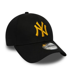 CASQUETTE | NY NEW ERA 39 THIRTY BLACK / GOLD - Invog