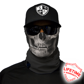 Black Skull Face Shield - Invog