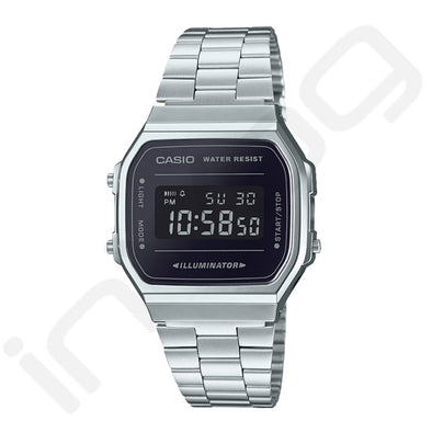 Montre | Casio Silver BLACK - Invog