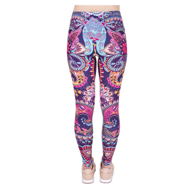 Flower Mandala leggings - Invog