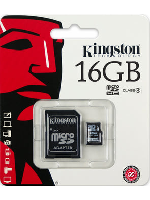 Carte Mémoire | Kingston 16Go - Invog