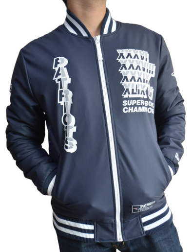 JACKET | PATRIOTS GRAPHIC VARSITY - Invog