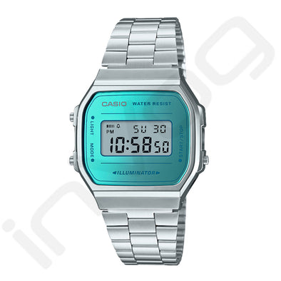Montre | Casio Silver BLUE - Invog
